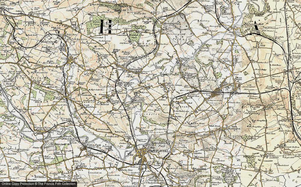 Old Map of Todhills, 1903-1904 in 1903-1904