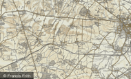 Map of Toft, 1899-1901