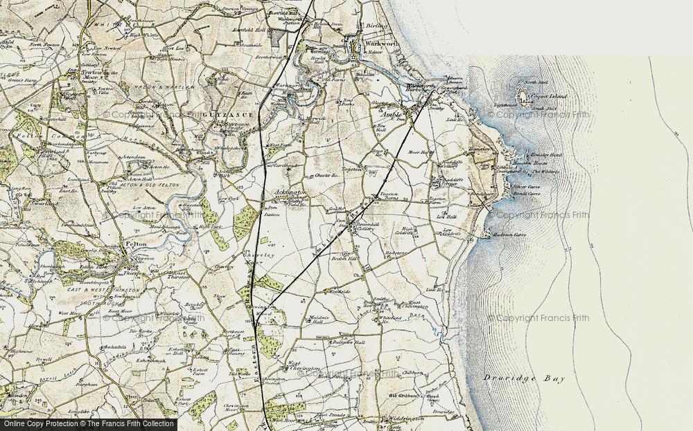 Togston, 1901-1903