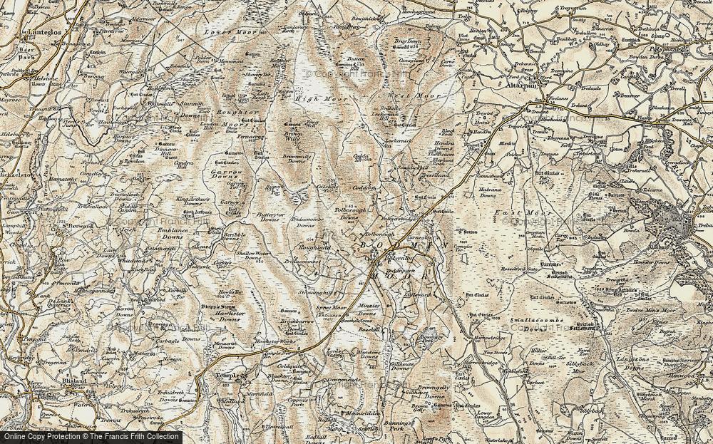 Tolborough, 1900