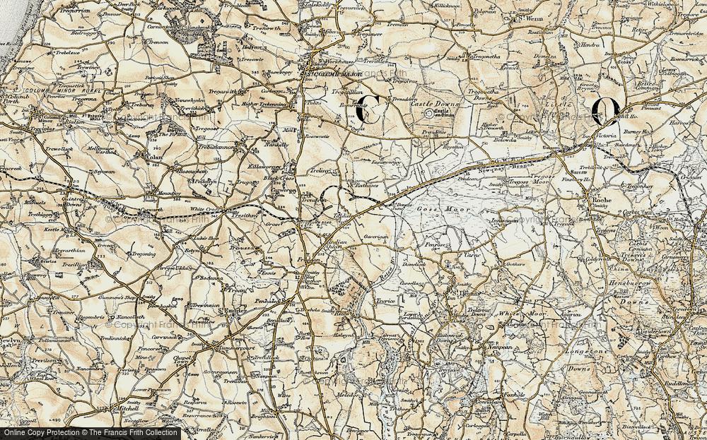 Toldish, 1900