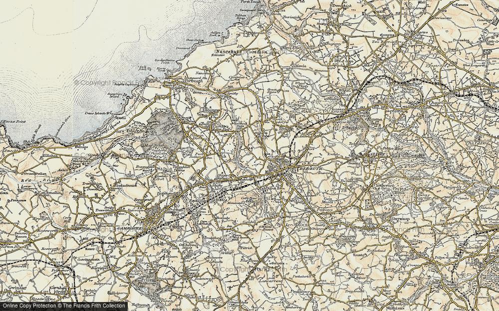 Tolgus Mount, 1900