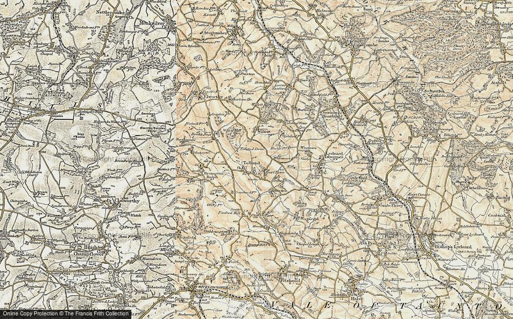 Tolland, 1898-1900