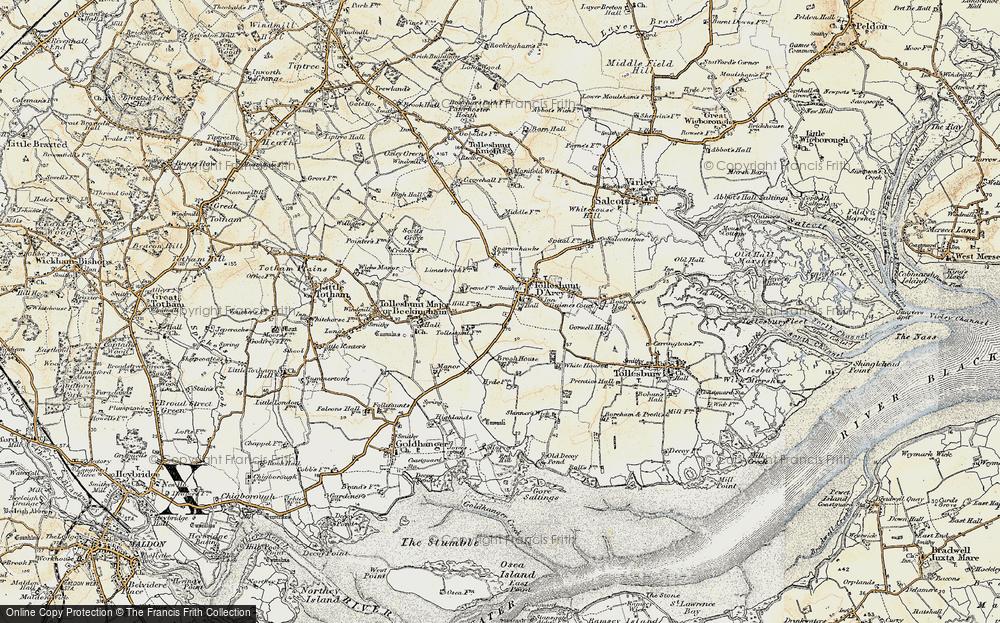 Tolleshunt D'Arcy, 1898