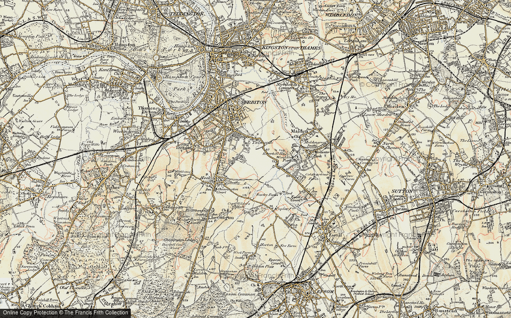 Tolworth, 1897-1909