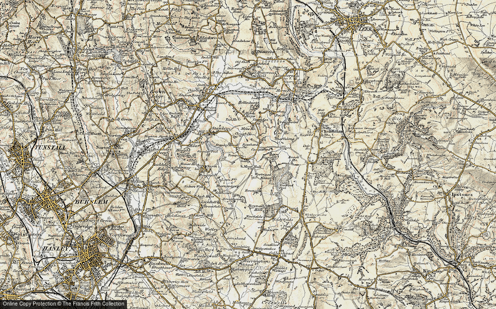 Old Map of Tompkin, 1902 in 1902