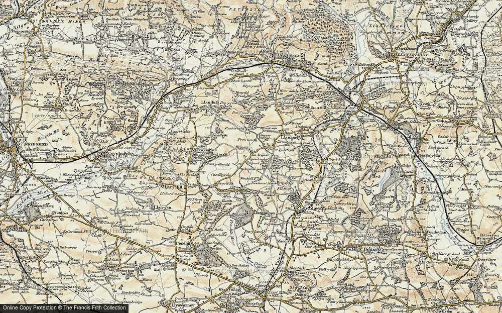 Old Map of Ton Breigam, 1899-1900 in 1899-1900