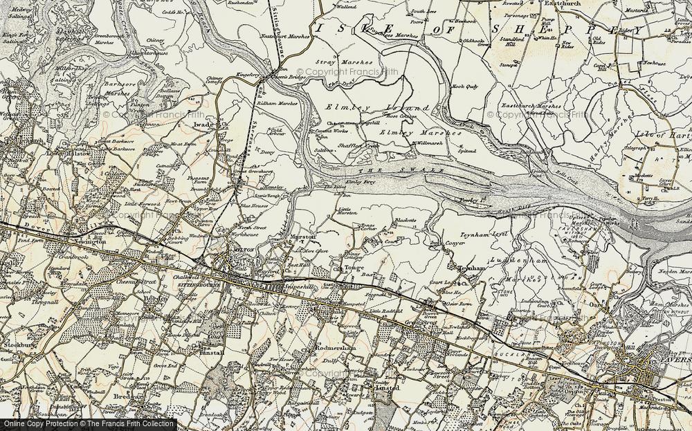 Tonge Corner, 1897-1898