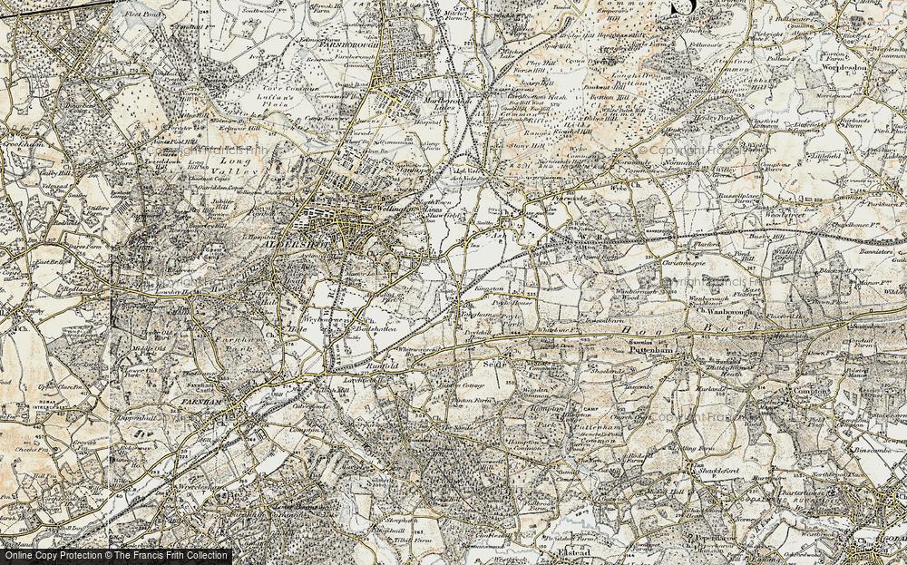 Tongham, 1898-1909