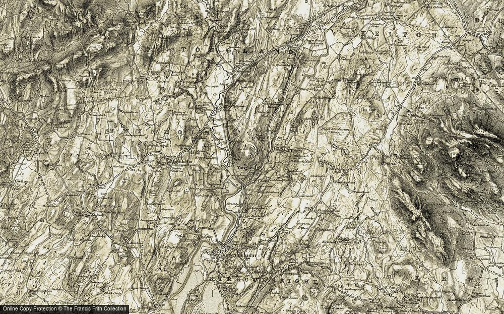 Tongland, 1905