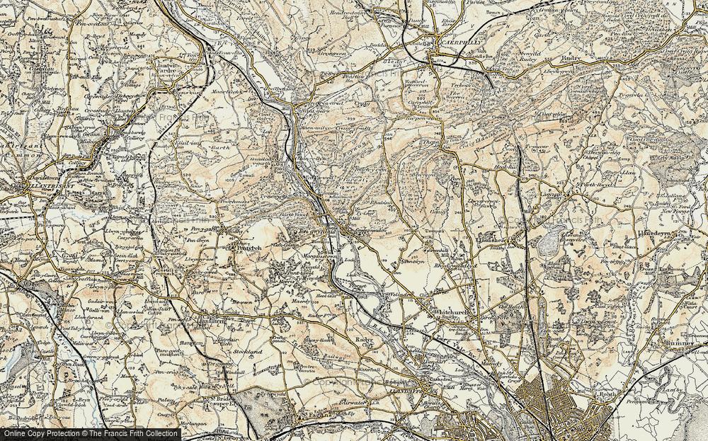 Tongwynlais, 1899-1900