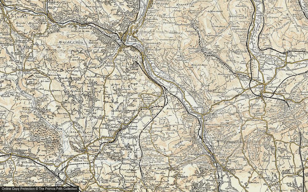 Tonteg, 1899-1900