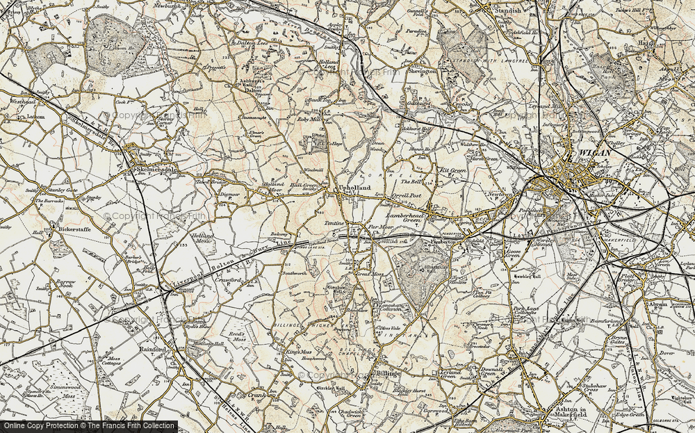 Old Map of Tontine, 1903 in 1903