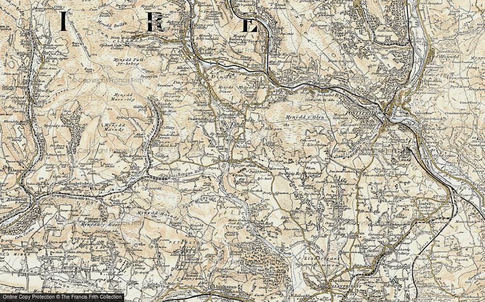 Tonyrefail, 1899-1900