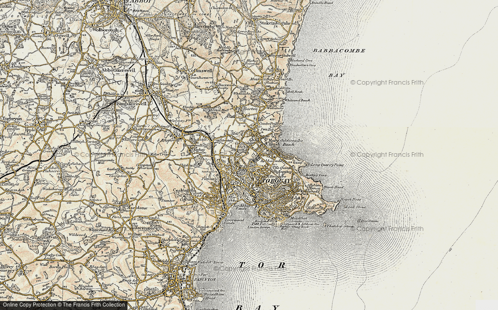 Old Maps of Torquay Francis Frith