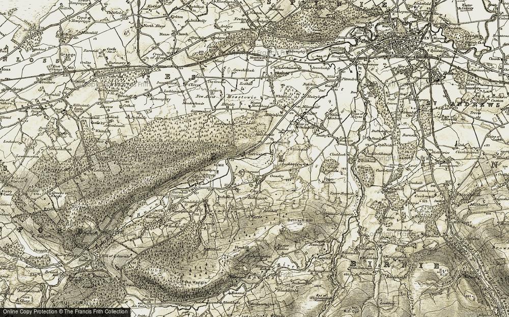 Torrieston, 1910-1911