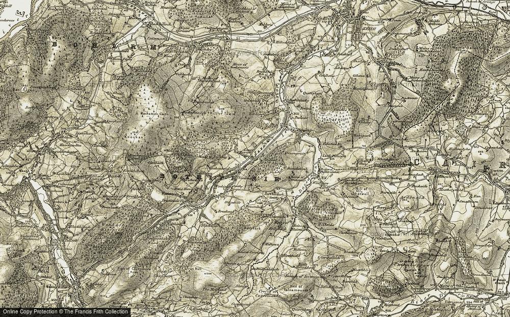 Towiemore, 1908-1910