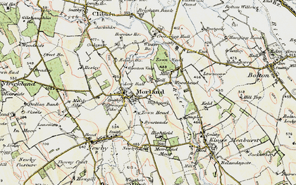 Old map of Winter Ho in 1901-1904