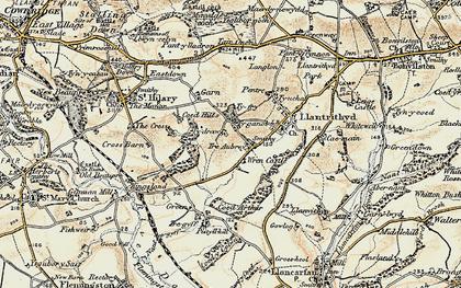 Old map of Wren's Castle in 1899-1900