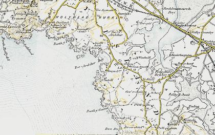 Old map of Bagnol in 1903-1910