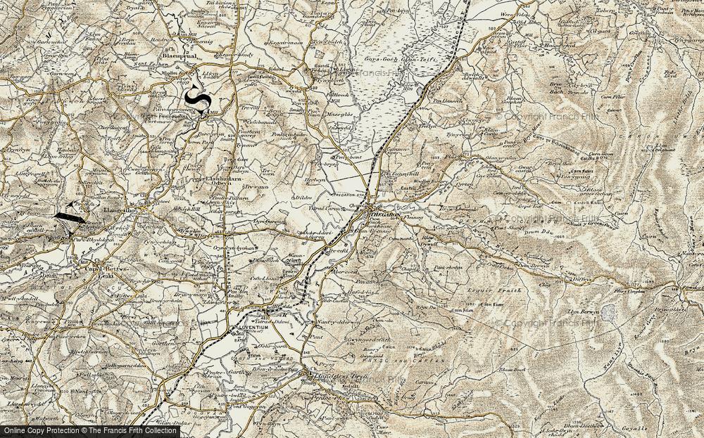 Tregaron, 1901-1903
