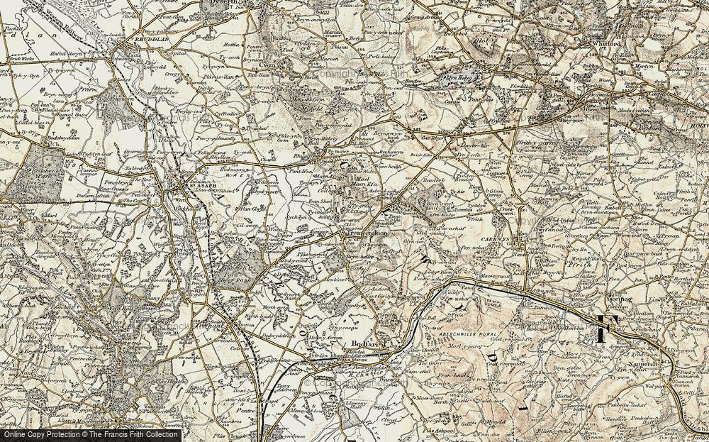 Tremeirchion, 1902-1903