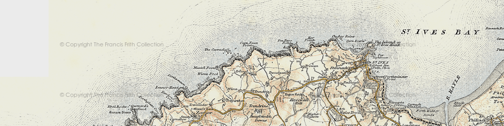 Old map of Wicca Pool in 1900