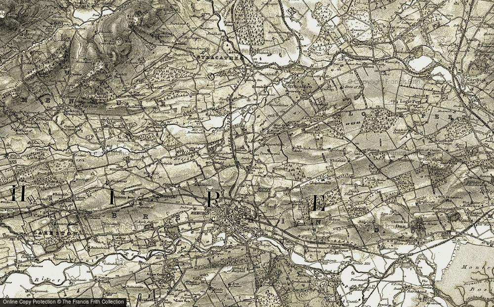 Trinity, 1907-1908