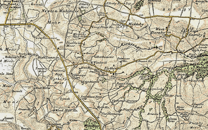 Old map of Wilks Rigg in 1903-1904