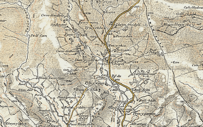 Old map of Baily Brith in 1900-1902