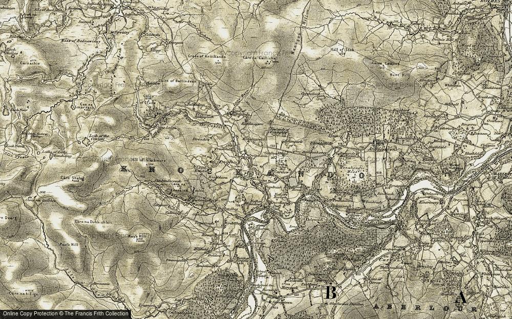 Upper Knockando, 1908-1911