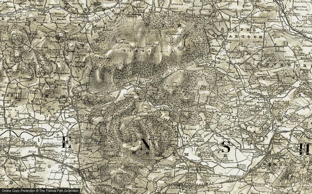 Upper Woodend, 1908-1910