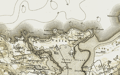 Old map of Àird Mhic Caoilt in 1911