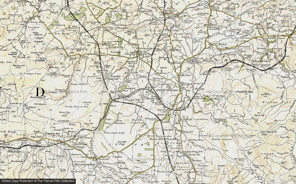 Old Map of Historic Map covering Leases in 1903-1904