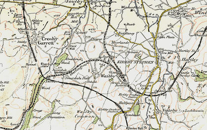 Old map of Leases in 1903-1904
