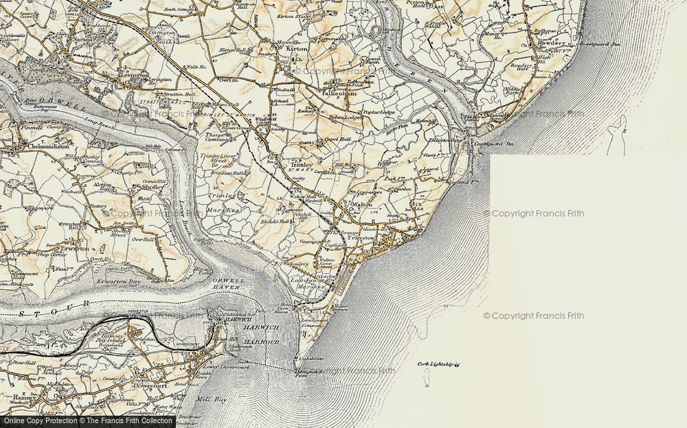 Old Map of Walton, 1898-1901 in 1898-1901