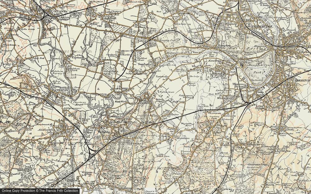 Walton-on-Thames, 1897-1909