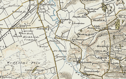 Old map of Westfield Ho in 1901-1904