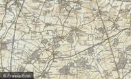 Map of Waresley, 1898-1901