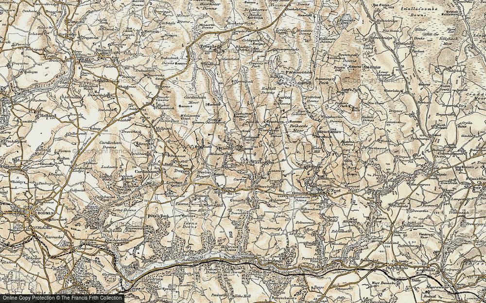 Warleggan, 1900
