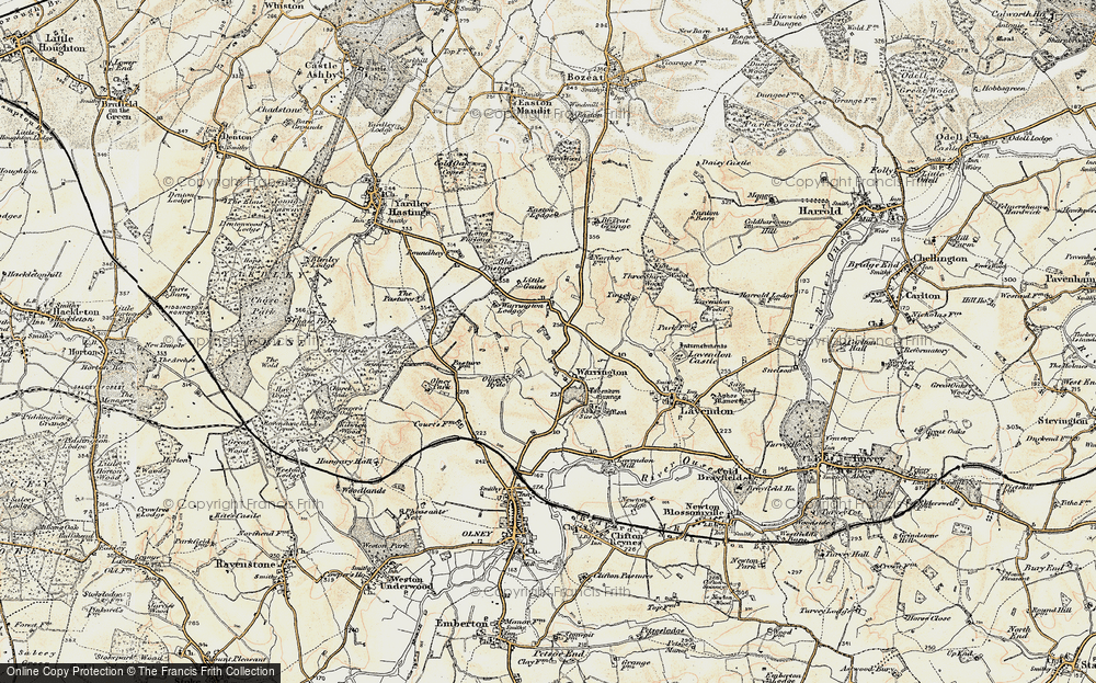 Map of Warrington, 1898-1901 - Francis Frith