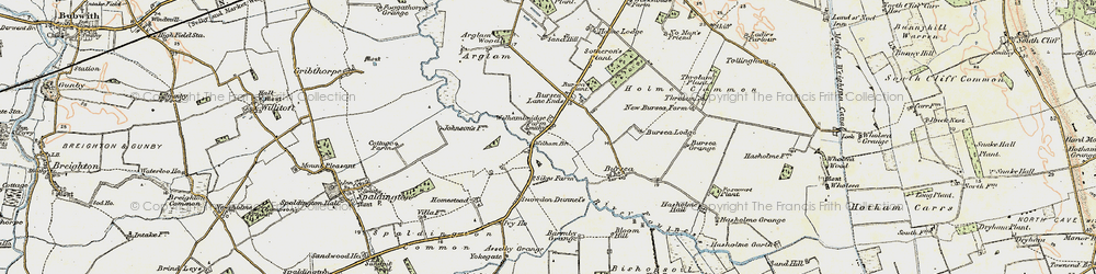 Old map of Yokegate in 1903