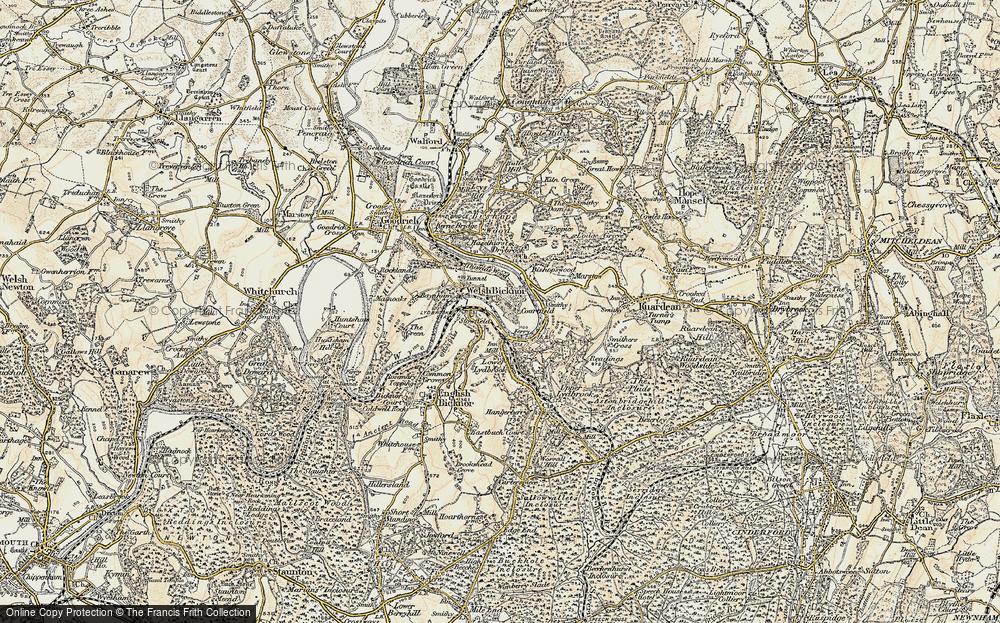 Welsh Bicknor, 1899-1900