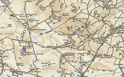 Old map of Wurt Pit in 1899