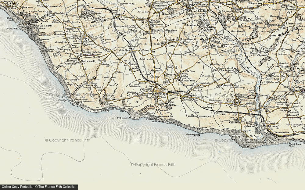 West-end Town, 1899-1900