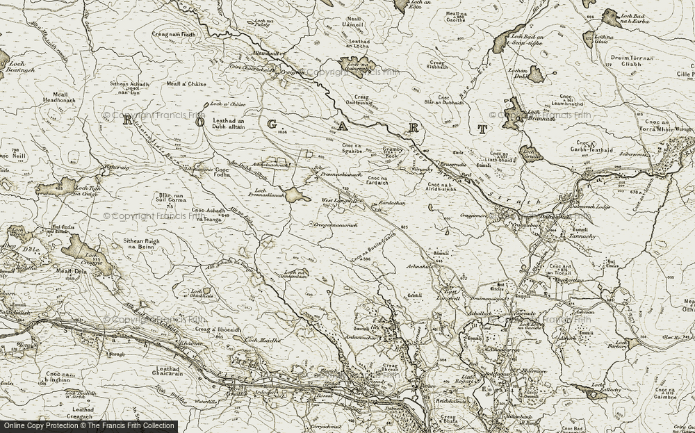 West Langwell, 1910-1912