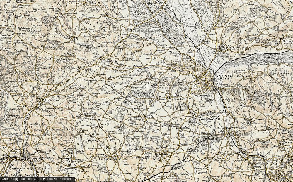 West Ogwell, 1899