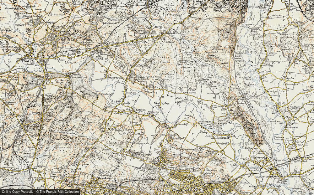 West Parley, 1897-1909
