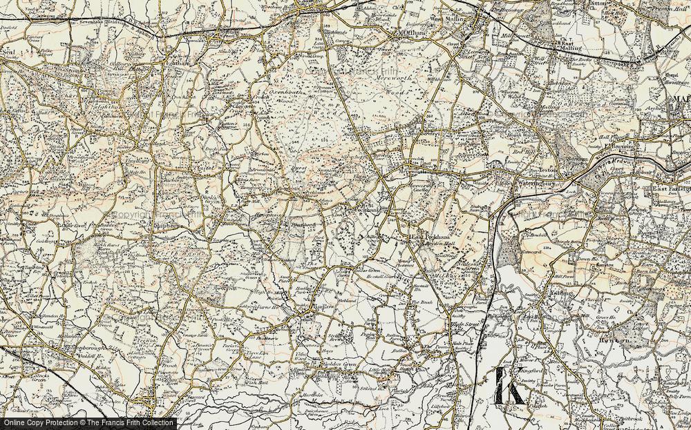 West Peckham, 1897-1898