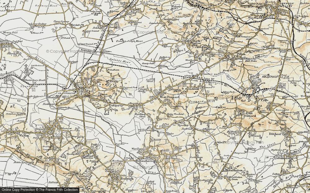 West Pennard, 1899